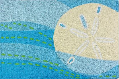 Picture of SANDDOLLAR & WAVES - MEMORY FOAM