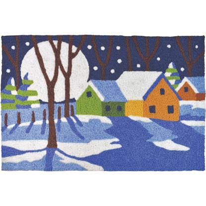 A Winter's Night Jellybean Seasonal Accent Rug