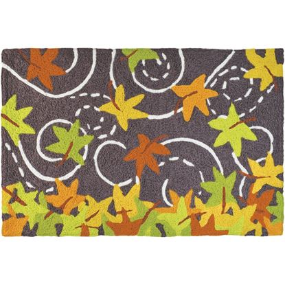 Falling Leaves Jellybean Seasonal Accent Rug