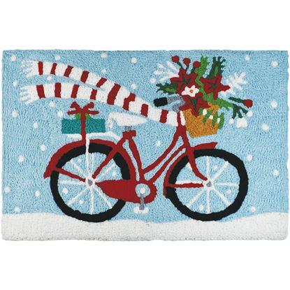 Holiday Biking, Jellybean Accent Rugs, Seasonal