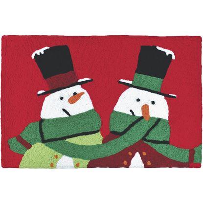 Snow Buddies Jellybean Holiday Accent Rug